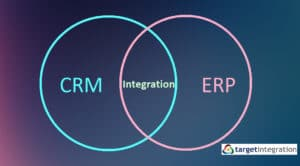How can businesses benefit by integrating ERP with CRM system