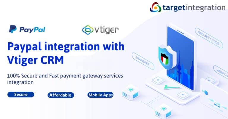 Vtiger and Paypal integration