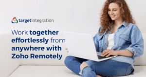 Work together effortlessly from anywhere with Zoho Remotely
