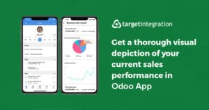 10 Get a thorough visual depiction of your current sales performance in odoo App