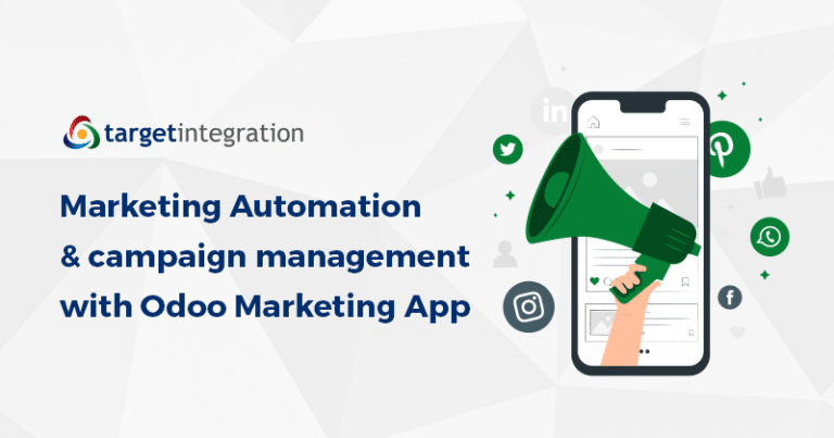 Marketing Automation & campaign management with Odoo Marketing App