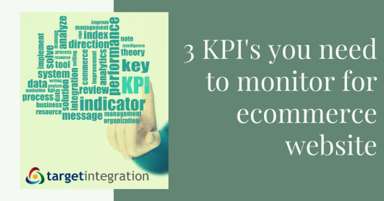 3 Essential KPIs to Track for Your Ecommerce Website